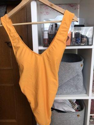 Hollister Zwempak goud Oranje
