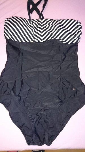 Esprit Swimsuit white-black