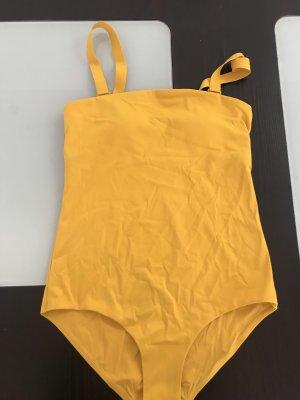 COS Traje de baño naranja dorado