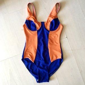 Zwempak lila-oranje