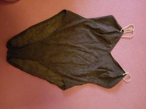 3 Suisses Costume da bagno marrone scuro Tessuto misto