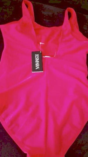 Badeanzug in der Farbe pink