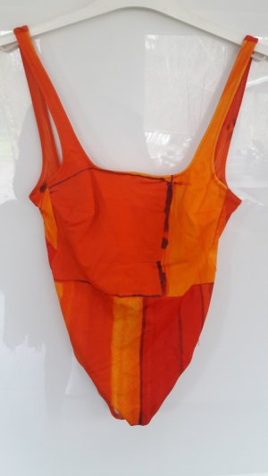 Badeanzug in Orange