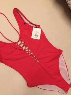 Swimsuit salmon-bright red