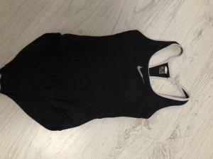Nike Traje de baño negro-blanco