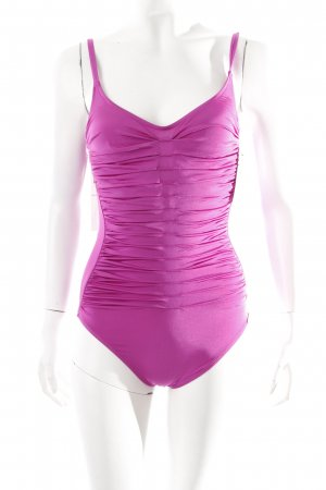 Badeanzug pink sportlicher Stil