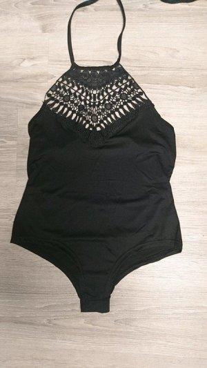 Badeanzug schwarz Größe S