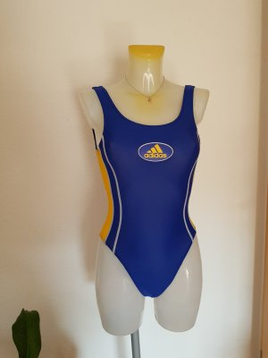 Adidas Swimsuit yellow-blue
