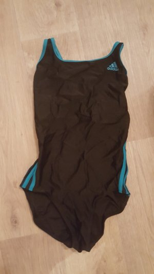 Adidas Originals Swimsuit black-cadet blue