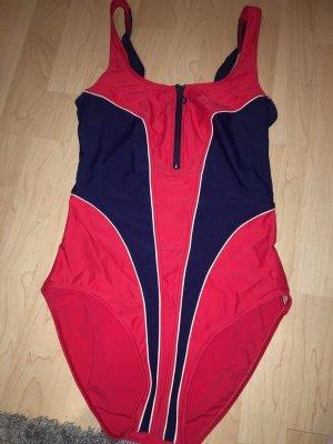 Ariella Swimsuit brick red-dark blue