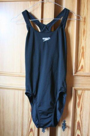 Badeanzug von Speedo, Gr. 36/38, S, schwarz, schwimmen, Schwimmanzug