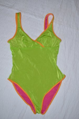 Swimsuit green-pink