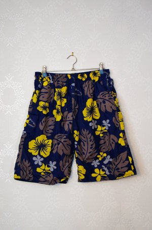 Badehose Floral Hawaii