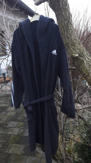 Adidas Dressing Gown white-black