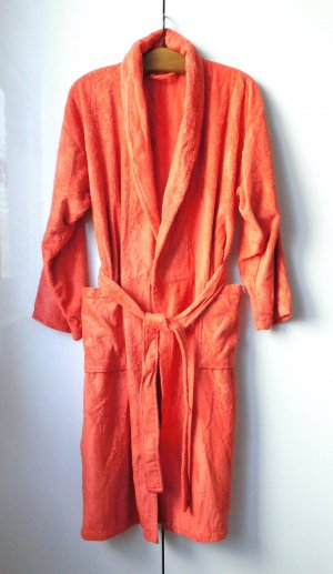 Peignoirs de bain orange-rouge clair