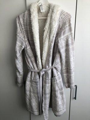 H&M Peignoirs de bain blanc-gris clair