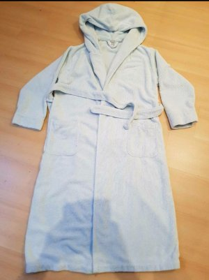 Madeleine Bathrobe light grey-light blue