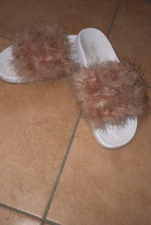 Beach Sandals white-pink