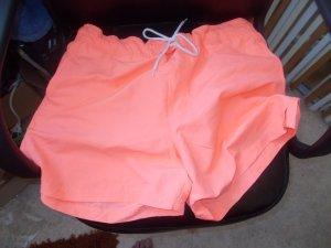 Shorts de bain orange clair