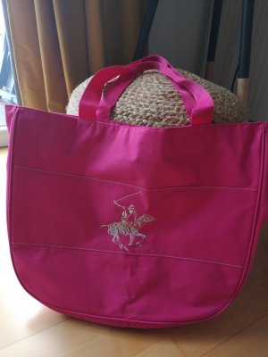 Beverly Hills Polo Club Bolso de tela rosa