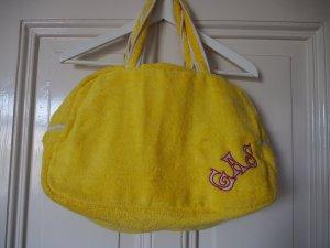 Badetasche, Strandtasche, Bowling Bag, Handtasche in Knall Sonnen Gelb