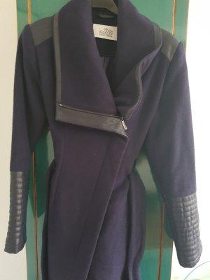 Badgley Mischka Between-Seasons-Coat dark blue