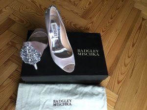 Badgley Mischka Nilla Peep Toe Pump Gr. 36 bridal Schuhe