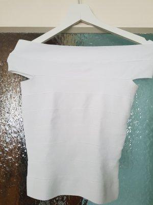 Dr. Haider-Petkov Boatneck Shirt white