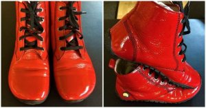 Bär Sneakers met veters veelkleurig Leer