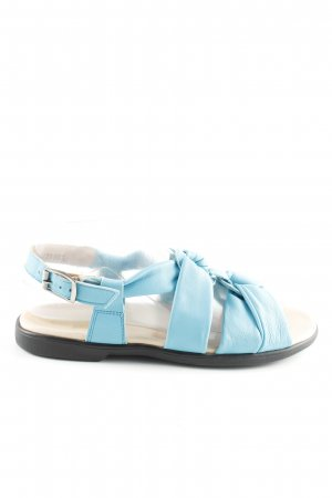 Bär Komfort-Sandalen blau-schwarz Casual-Look
