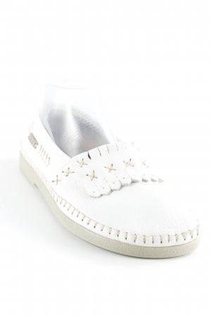 Bär Mocasines blanco look Boho