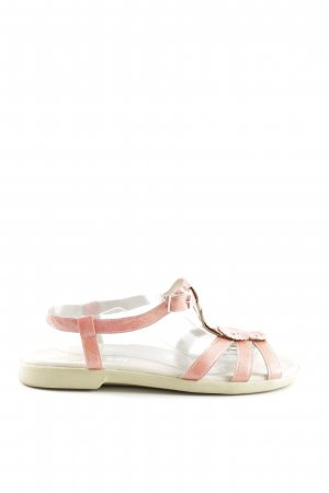 Bär Strapped Sandals pink casual look