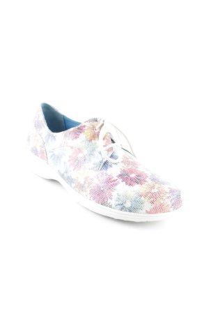 Bär Schnürschuhe florales Muster extravaganter Stil