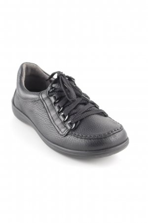 Bär Zapatos brogue negro look casual