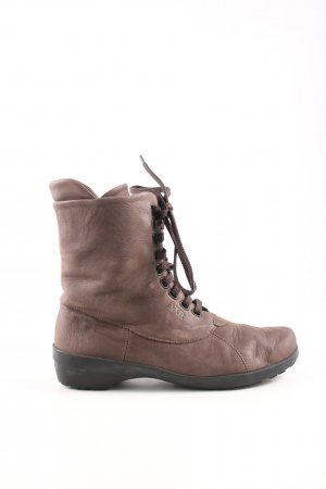 Bär Lace-up Boots brown casual look