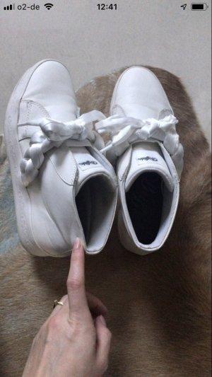 Buffalo Heel Sneakers white
