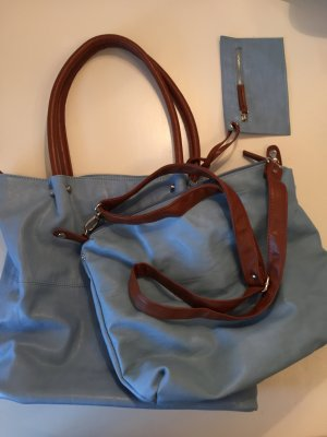 Bag in Big Shopper Maestro Hellblau