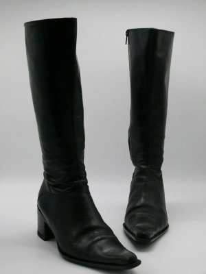 Bagatt Western Boots black imitation leather