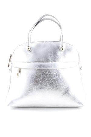 Bagatt Bolso barrel color plata elegante