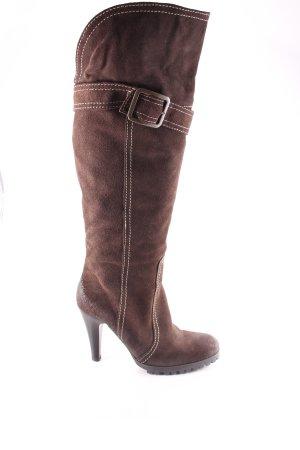 Bagatt High Heel Stiefel dunkelbraun klassischer Stil