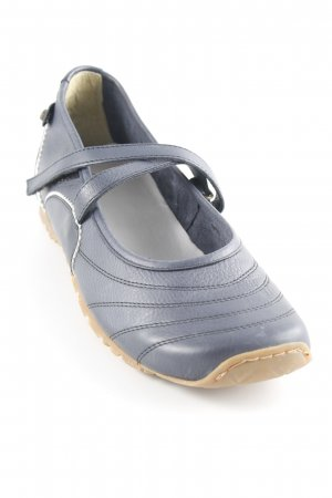 Bagatt Mary Janes dark blue-white simple style
