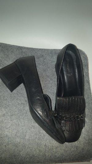 Bagatt Loafers zwart-grijs Leer