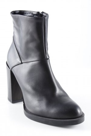 Bagatt Reißverschluss-Stiefeletten schwarz Business-Look