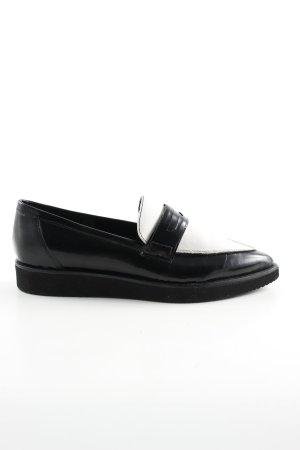 Bagatt Babouche noir-blanc style d'affaires