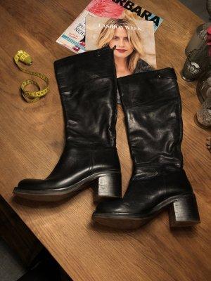 Bagatt Jackboots black leather