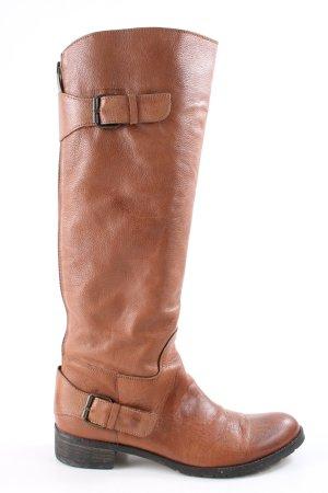 Bagatt Bottes d'hiver brun style décontracté