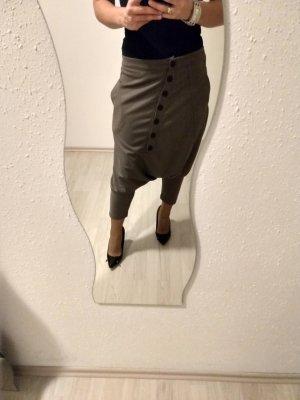 Baggy broek grijs-bruin