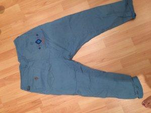 Maloja Pantalon boyfriend bleu cadet