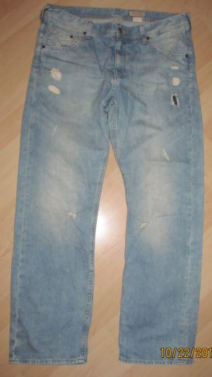Baggy Jeans von H&M im Used Look