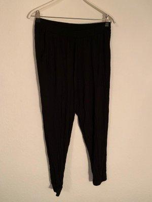 H&M Pantalón abombado negro